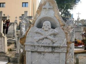 Calavera cementerio Palma