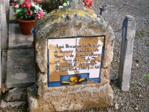 Tumba cementerio de Palma